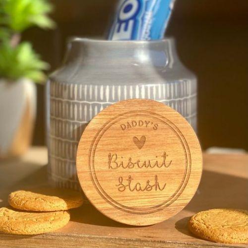Personalised Biscuit Stash Treat Jar