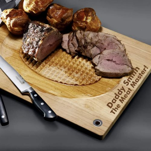 Personalised Meat Carving Board