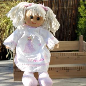 Angel Personalised Rag Doll
