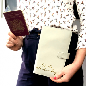 Let The Adventure Begin Travel Wallet