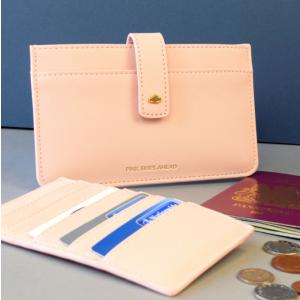 Pink Skies Travel Wallet