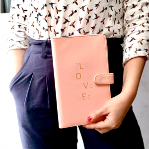 LOVE Pink Travel Wallet