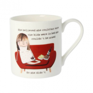 Rosie Made A Thing Kids in Bed Mug