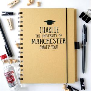 University Awaits You Personalised Notebook