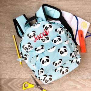 Personalised Panda Kids Backpack