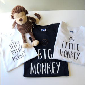 Family Monkey T-shirts
