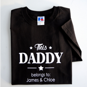 Personalised This Daddy T-shirt (2016 Design)