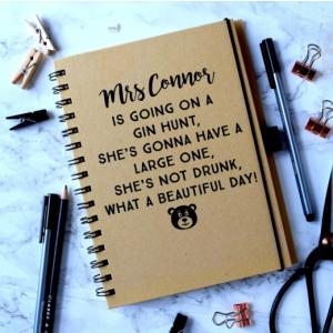 Personalised Bear Hunt Teacher Notebook