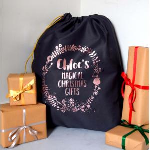 Personalised Magical Christmas Gifts Santa Sack