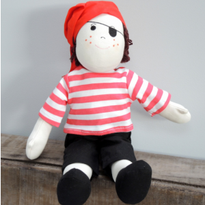 Personalised Babies Pirate Rag Doll
