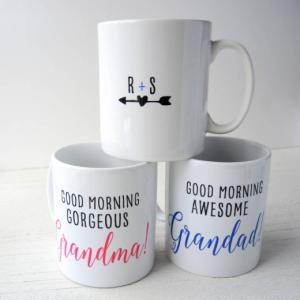 Personalised Grandma & Grandad Mugs