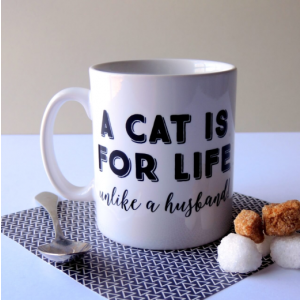 A Cat is for Life Mug