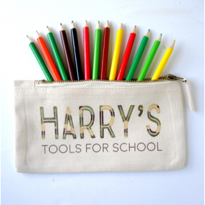 Personalised Tools for School Pencil Case