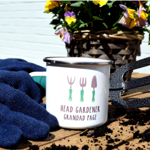 Personalised Head Gardener Mug