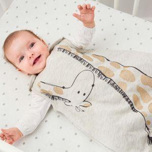 Personalised Giraffe Baby Sleeping Bag
