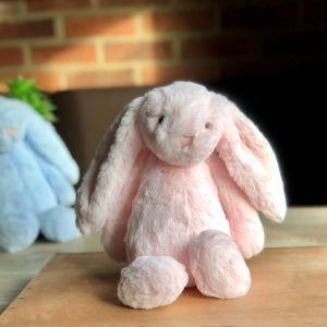 Jellycat Bashful Pink Bunny: Medium