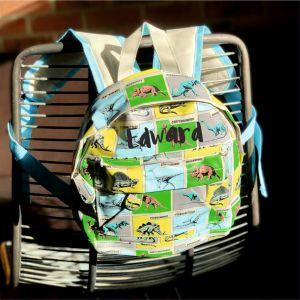 Personalised Kids Prehistoric Backpack